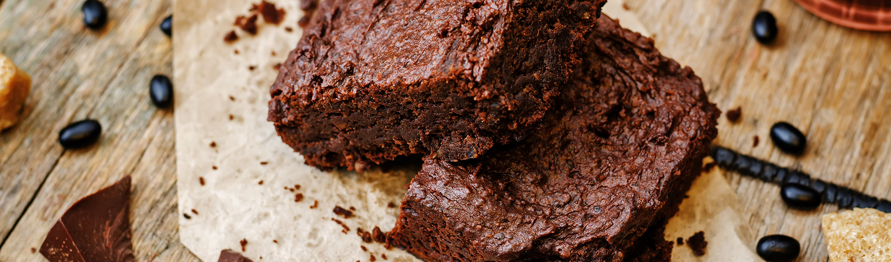 Very Chocolatey Black Bean Brownies