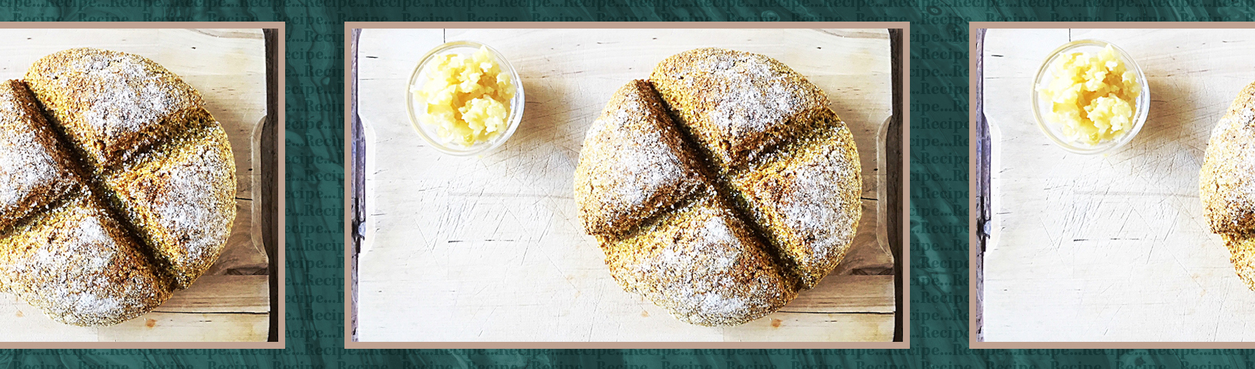 Irish Soda & Turmeric Bread